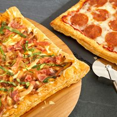 Pepperidge Farm® Puff Pastry - Recipe Detail - Pick-Your-Own-Topping Pizza Night