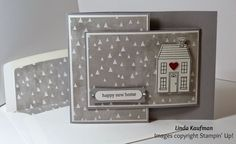 Linda K's Stampin' Page: All is Calm Meets Holiday Home