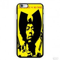 Jimi Hendrix Vs Wu Tang iPhone Cases Case