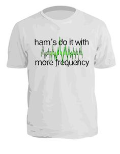 Printed Ham Radio T-Shirts