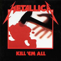 METALLICA - LP Kill 'Em All (With Inner Sleeve)