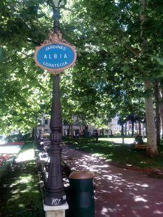Jardines de Albia. Bilbao Bilbao San Sebastian, Basque Country, Outdoor Decor, Cities, Gardens, Historia