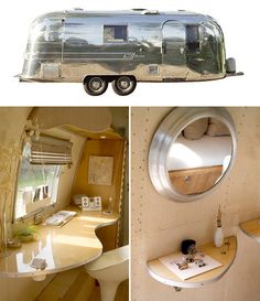 #airstream #travel #trailer #vintage #style #thestyleumbrella via The Style Umbrella  This is what I want to travel in!