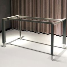 Metal Table Legs, Stainless Steel Material, Metal Furniture, Home Office, Desk, Projects, Tube, Home Decor, Image