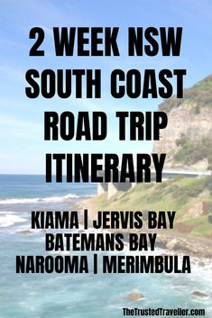 Two Week NSW South Coast Road Trip Itinerary - The Trusted Traveller Coast Australia, Visit Australia, Australia Trip, Holiday Destinations, Travel Destinations, Nsw Holidays, South Coast Nsw, Australian Road Trip, Australia Travel Guide