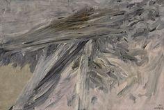 """Mattia Moreni """"Ancora verso un paesaggio"""" 1961"""