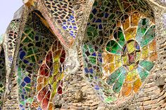 Barcelona Architecture - Gaudi Crypt at Colonia Guell