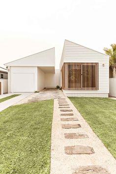 Orton Haus — the palm co. Future House, My House, Town House, Home Room Design, House Design, Backyard Garden Design, Modern Coastal, Facade House, House Goals