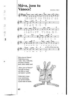 Kids Songs, Advent, Sheet Music, Children Songs, Music Sheets
