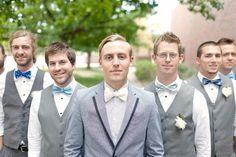 ©We Heart Photography #wedding #grey