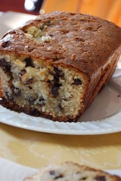 Almond Joy Bread with a Coconut Glaze~T~ Love this bread with coconut, almonds and chocolate chips.