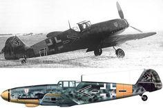 "The Messerchmitt Bf 109 G-2 of the Kommodore of JG 3, Wolf-Dietrich ""Fürst"" WILCKE, at Morosovskaïa in December 1942. He was KIA on 23 March..."