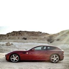 Here's a great shot of the spectacular Ferrari FF