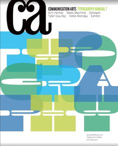 The January/February 2017 issue of Communication Arts, the Typography Annual. Let the font fetishists among us go crazy!