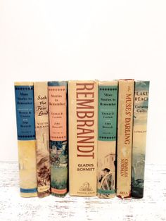 Decorative Books.Sand with Peach ,Pink and Mint by beachbabyblues, $72.00