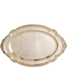 Large Gorham Silver Plated Serving Tray
