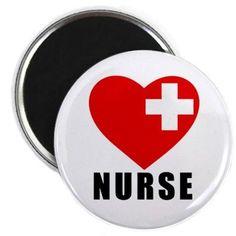 Items similar to Love Nurse Heart Cross Fridge Magnet (Choose Size) on Etsy Hotel Party, Heartbreak Hotel, American Red Cross, White Crosses, Love My Job, Magnets, I Shop, Clam, Random Things