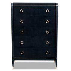 Brownstone Furniture Davenport 5 Drawer Standard Chest