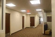 A picture of the hallway