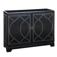 """I pinned this Gail's Accents Malaga Console from the Femme Fatale event at Joss and Main!  36"""" H x 46"""" W x 16"""" D  $599 plus add'l charges shipping"""
