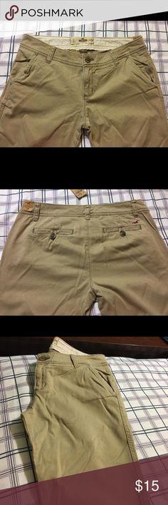 Women's khaki pants Khaki pants size 27R Hollister Pants Leggings