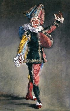 Polichinelle  -  1873. Эдуард Мане