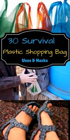 """No plastic bag day essay a power stakeholder which enforces the company to practice green concept through """"no plastic bag day"""". No plastic bag day was first started at the state Plastic Bag Crafts, Plastic Bag Crochet, Recycled Plastic Bags, Recycled Crafts, Wilderness Survival, Camping Survival, Survival Prepping, Survival Skills, Survival Gear"""