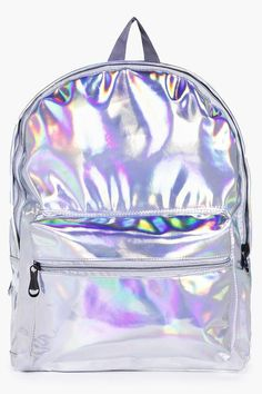 Libby Holographic Rucksack
