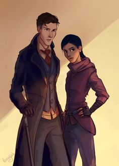 Best one of see of them - Kaz Brekker and Inej Ghafa | Six of Crows