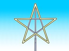 How To Make A Large Christmas Star