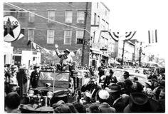Bing Crosby, Front Royal, Virginia   1950 Front Royal, Bing Crosby, Shenandoah Valley, Inspiration Wall, Great Memories, Virginia, Warren County, Street View, Staying Positive