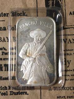 Pancho Villa Silver Coin  Oz