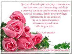 Feliz Aniversário Mensagem Romantic Bedroom Design, Gif Pictures, Happy Birthday, Rose, Flowers, Angela, Jesus Cristo, Gabriel, Quotes