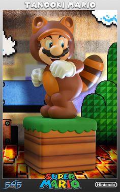 Estátua Tanooki Mario