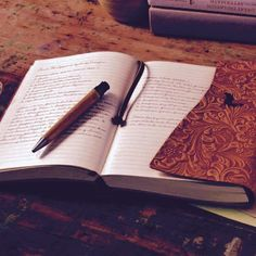 """""""Journaling is a way to record your thoughts out on a single page."""""""
