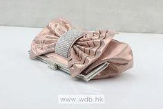 Fabulous Plain Crystal Small Cross-Body Bags, Hard-Shell, Single Deck $21.99