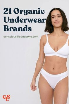 These sustainable underwear brands have eco-friendly & organic briefs, hipsters, thongs, and more made from fabrics like organic cotton, hemp, and Tencel! This guide includes size-inclusive underwear as well. #underwear #organicunderwear Ethical Fashion Brands, Ethical Clothing, Vegan Fashion, Slow Fashion, Independent Clothing, Ethical Shopping, Underwear Brands, Eco Friendly Fashion, Sustainable Fashion