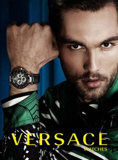 Versace Men's Watches 2013 Campaing