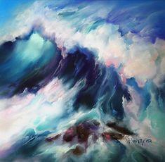 L. A. Frechette Fine Art Gallery - Soft Pastels, Oils, Seascapes - The Art