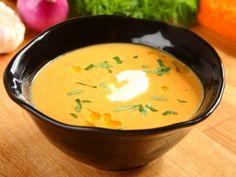 Smetanová dýňová polévka / Creamy pumpkin soup