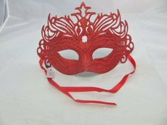 Stunning glitter covered plastic mask with filigree design. Available in 6 colours; Black, Blue, Pink, Purple, Red or Silver. Ideal for fancy dress, masquerade ball or any other special occasion. by Top Brand, http://www.amazon.co.uk/dp/B00DW7EPIG/ref=cm_sw_r_pi_dp_cBX1sb00JVJWM