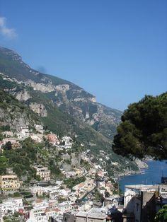 De carro pela costa Amalfitana - roteiro: Salerno - Amalfi - Ravello - Positano – Sorrento - Ilha de Capri – Pompéia – Herculano – Salerno