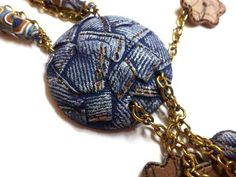 Blue Jeans Pendant photo tutorial