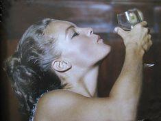 Romy Schneider, 1963, Monte Carlo, by Milton H Greene