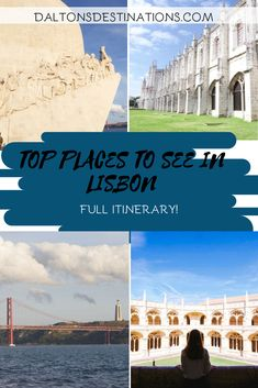 Portugal is one of my favorite countries! It is a country filled with amazing people, places, and food! Check out my full itinerary for Lisbon!  | Lisbon Travel Guide | Top things to do Lisbon | Best things to do in Lisbon | Top places to visit in Lisbon | What to do in Lisbon | Portugal Travel Guide | Lisbon Portugal Itinerary | Lisbon Bucket List | 3-Day Guide Lisbon | Lisbon Travel Tips | Portugal Travel Tips | Lisbon Hidden Gems | Beautiful Places Portugal | Perfect Portugal Itinerary Portugal Travel, Lisbon Portugal, Travel Plan, Travel Guide, Travel Couple, Family Travel, European Destination, Weekend Trips, Amazing People