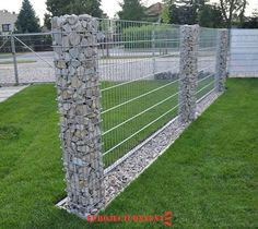When decorating your yard, consider adding a garden fence to your home's decorating plans. Adding a garden fence is a great way to add a beautiful feature to your home. You can use the fence as a way to highlight… Continue Reading → Backyard Fences, Garden Fencing, Backyard Landscaping, Landscaping Ideas, Veg Garden, Outdoor Projects, Garden Projects, Gabion Wall, Gabion Fence Ideas