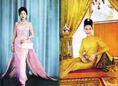 Queen Sirikit & Queen of Thailand