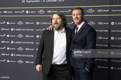 Ben Wheatley and Luke Evans attends the 'High-Rise' Premiere during the Zurich Film Festival on September 25, 2015 in Zurich, Switzerland. The 11th Zurich Film Festival will take place from September 23 until October 4.