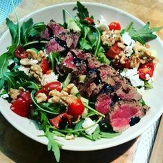 Easy Healthy Breakfast Ideas & Recipe to Start Excited Day I Love Food, Good Food, Yummy Food, Easy Healthy Breakfast, Healthy Eating, Breakfast Ideas, Summer Recipes, Great Recipes, Steak Salat