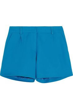 Iris & Ink City cotton-crepe shorts - Exclusively for THE OUTNET